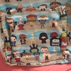 Star Wars Bags - NWT Loungefly X Star Wars Print Backpack